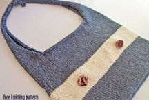 Knitted bags