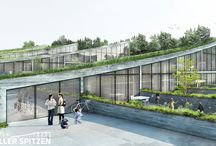 Living / Beautiful places to live in, on special places, with terrific design