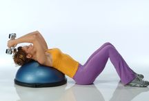 Workout - Bosu / Pins pertaining to working out with a Bosu ball.