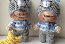 Amigurumies Yo-yo / Amigurumi crochet dolls  Yo-yo