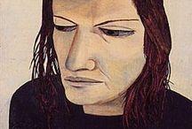 Fainting - Lucian Freud