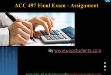 ACC 497 Final Exam