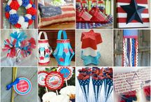 Red,white & Blue / by Gina Pecho