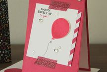 SAB 2016 - Party Pants / Cards using the Party Pants stamp set from Stampin' Up!'s Sale-a-bration catalogue 2016