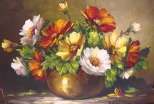 Cuadro de flores