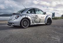 Mission Hall wheels / Beetles, Porsches and Audis with the Mission Hall Graphics