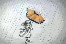 Sombrinhas.. umbrellas... sombrillas.... parapluie e outros....