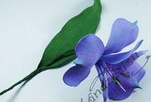 мк цветов из фома