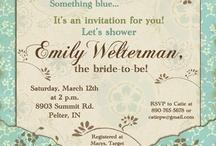 Brown & Blue wedding ideas / by Marcia Davis