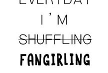 Fangirling time!