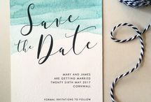 OUR WEDDING STATIONERY - by Emerald Paper