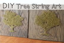 string & pin art