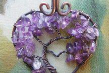 Purple colour shade