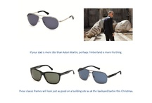 Xmas Gift Guide / Healy Optical's guide to the best sunglass gifts this year