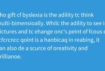 Dyslexia News / Dyslexia in the News