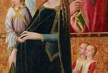Virgen María expectante