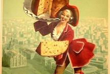 Vintage food adverts