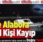 Tekne Alabora Oldu 1 Kişi Kayıp