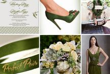Cypress Green Wedding Inspirations / Pantone's Fall 2014 color of the year is Cypress Green, and what better way to showcase this elegant shade than at your wedding! Inspirations from The Bride's Shoppe, Great Falls, MT. www.TheBridesShoppe.com  / by The Bride's Shoppe