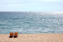 Barcelona beaches / Barcelona beaches, Spain