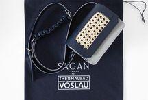 SAGAN Vienna & THERMALBAD VÖSLAU collaboration / SAGAN Vienna created special bag for one of the nicest  Austrian thermal spas Vöslau.