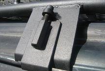 Estruturas metálicas para veículos