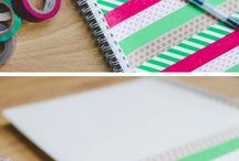 Back to school ideas / Easy fun, and you or your child's stationary will be looking fab!