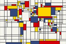 Mondrian inspired Architecture / How the work of an artist is used to inspire