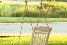 hanging swinging furniture