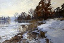 Paintings of Snow