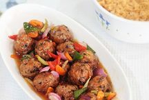 Meatballs / Recipes for meatballs. Grilled, fried or slow cooked. With every imaginable sauce.