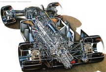 Cutaway and blueprints