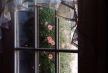 okna - wystrój