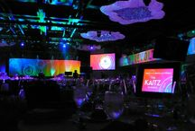 2015 Kaitz Marriott Marquis NY / EVENTEQ worked with producer OKeefe Communications to deliver stage set, audio, lighting and video systems for the 2015 Kaitz Dinner in NYC.