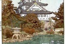 吉田 博 Yoshida, Hiroshi / (Japanese, 1876-1950) -- See more at: http://ukiyo-e.org/artist/yoshida-hiroshi