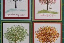 Stampin up The Sheltering Tree