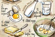 Infographics / recipes