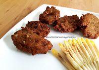 Vazhaipoo Masala Vadai Recipe / Banana Flower Vada Recipe | South Indian Samayal Recipes