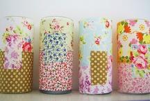 """WITH """"P'tits Tissus"""" Bazar de Roulottes / Des id& de petites créations à réaliser avec les Ballotins ou scrap bag fabrics du Bazar de Roulottes"""