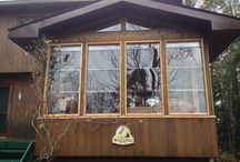 North Kawartha's  lake / Screen rooms completion  Clear view full screen and self storing shutter system,light weight,