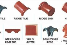 Tile Roofing / Know all about tile roofing, structure, components and framing roof.