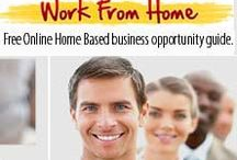 Work From Home Jobs / Legitimate work from home employment opportunities for independent. Providing Free Online Home Based business opportunity guide e-book to make money online.