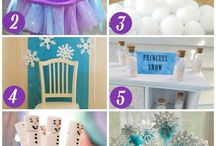 Frozen Party for Tiana