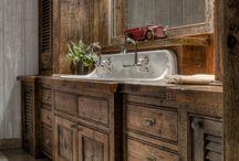 Rustikálne kúpeľne