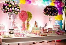 Eu ♥ Festas Infantis / Aqui você encontrará várias dicas de temas e decorações para festas infantís. ♥