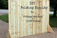 Craft Fair & Market Display Ideas