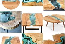 Live Edge Inspiration / by Ben Fairfield