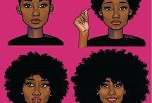 Soins de cheveux naturels
