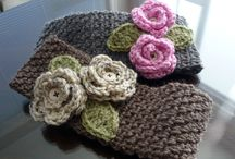 Crochet  and knitting / Head Bands
