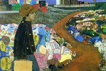 Art We Love: Antonio Berni / Delesio Antonio Berni was a figurative artist born in Rosario, Argentina. He is associated with Nuevo Realismo, a Latin American extension of social realism. / by MOLAA